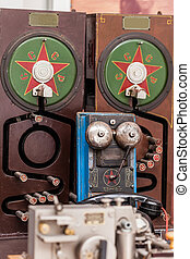 telephone set closeup
