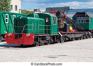 vintage retro train