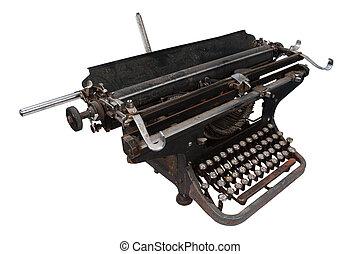 vintage retro typewriter
