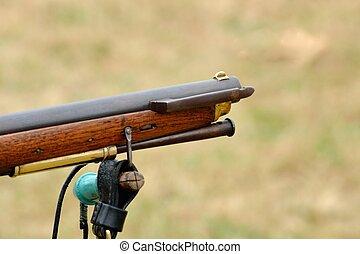 Vintage rifle Barrel