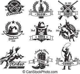 Vintage Rodeo Black Labels