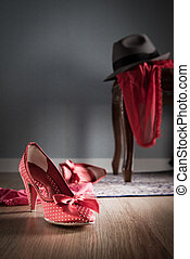 Vintage romantic dating - Female and male shoes, lingerie...
