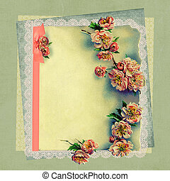 Vintage Roses and Lace