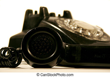Vintage rotary phone - rotary phone handset