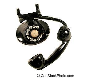 vintage rotary phone - Retro rotary phone
