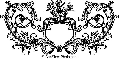 Vintage royal frame
