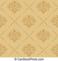 Vintage royal wallpaper seamless