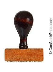 Vintage rubber stamp