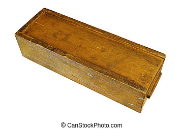 vintage rummy wooden box - vintage weathered rummy wooden ...