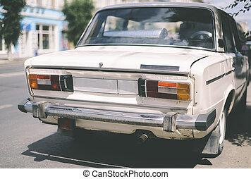 vintage russian car