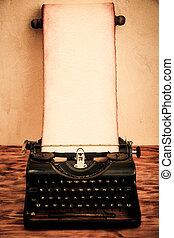 Vintage Santa paper scroll