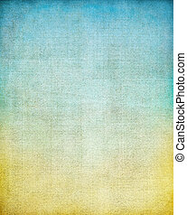 Vintage Screen Gradient - A vintage cloth book cover with a...