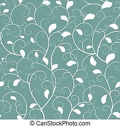 Vintage seamless branch pattern