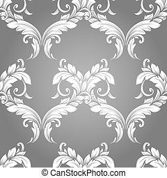 Vintage seamless hand drawn pattern