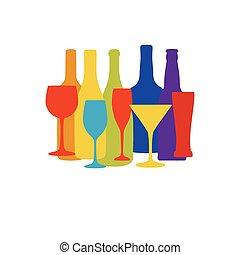 Vintage seamless pattern background for restaurant or cafe menu design.