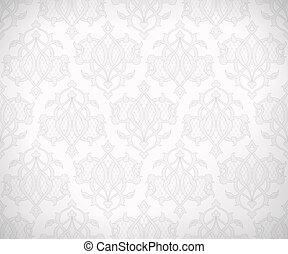 Vintage seamless pattern for background design - Vintage...