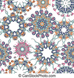 Vintage seamless pattern for your design