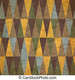 vintage seamless pattern of colored