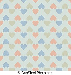 hearts on a background