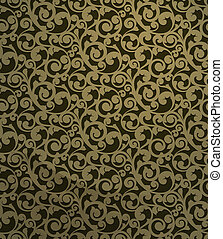 Vintage seamless pattern, vector