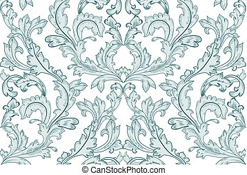 vintage seamless texture with arabesque for your design