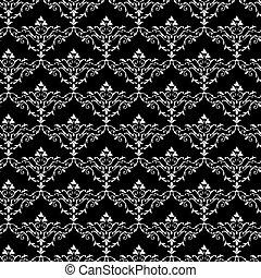 Vintage seamless wallpaper pattern