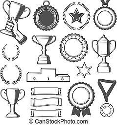 Vintage Sport Rewards Elements Collection