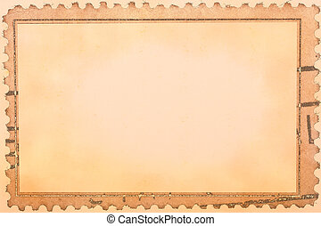 Vintage stamp background
