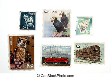 Vintage Stamps Collectible