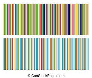 Vector illustration of vintage strip pattern