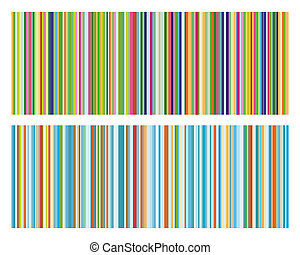 Vintage strip pattern