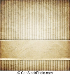 vintage striped background with banner, variable width ...