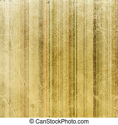 Vintage stripes decorated paper background