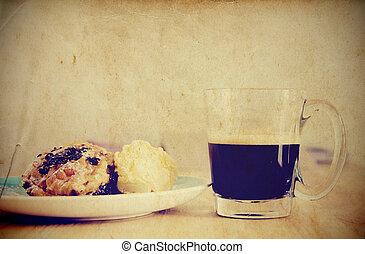 Vintage style Breakfast