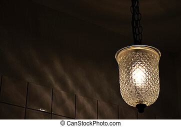 Vintage style hanging lamp