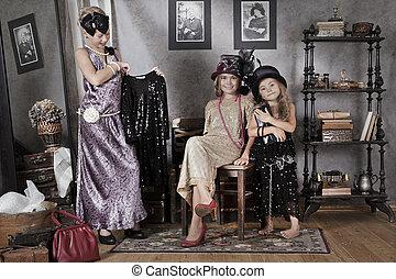 Vintage style kids