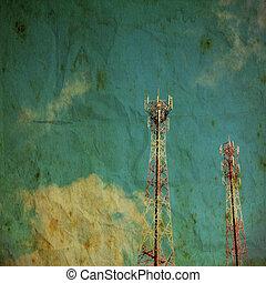 Vintage style radio tower