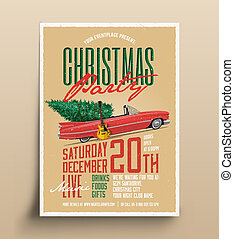 vector vintage concert poster template easy to edit clipart party