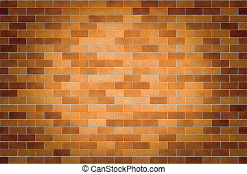 Vintage surface of the brick walls