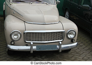 Vintage Swedish car - Vintage Swedish Car, made in 1961