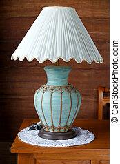 vintage table lamp.