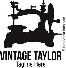 Vintage Taylor Logo, Easy to Use, Vector Format, Custom ...