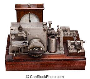 vintage telephone apparatus