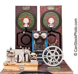 vintage telephone set