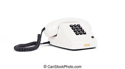 Vintage telephone - White
