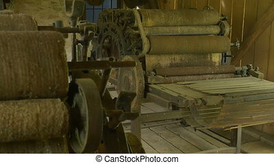 Vintage Textile Factory Machines