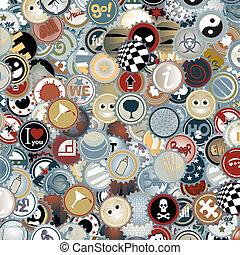 Vintage texture - Creative design of vintage texture