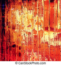 Vintage texture for background. With yellow, brown, red, ...