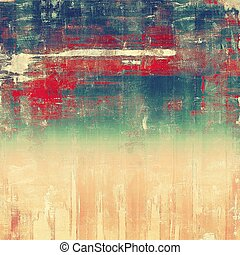 Vintage texture ideal for retro backgrounds. With different color patterns: brown; blue; red (orange); green