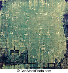 Vintage texture ideal for retro backgrounds. With different color patterns: yellow (beige); black; green; blue